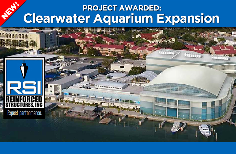 RSI Awarded Clearwater Marine Aquarium Expansion