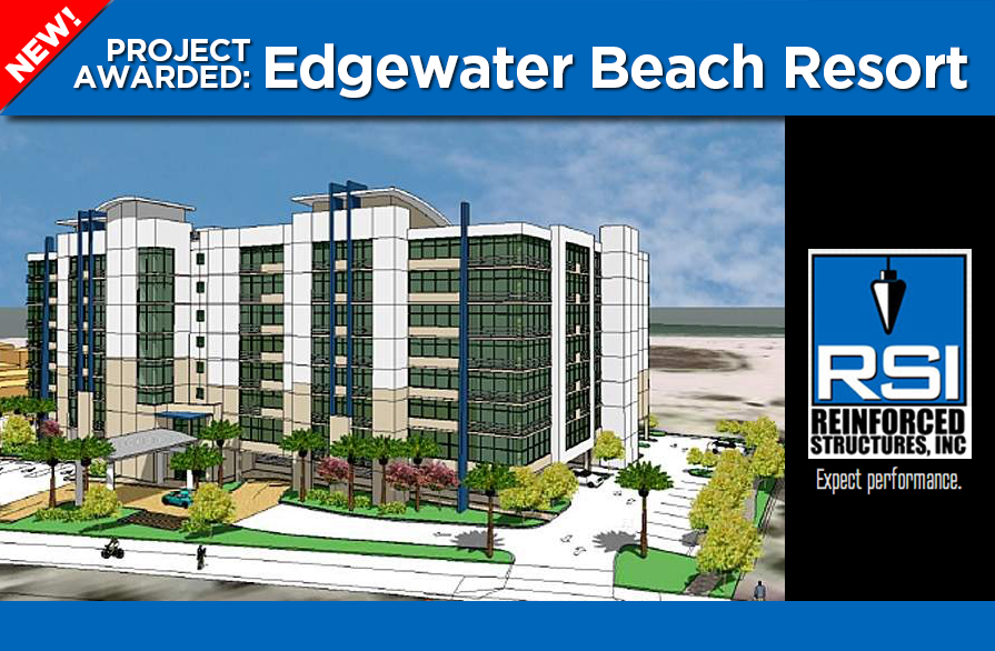 RSI awarded Edgewater Beach Resort on Treasure Island