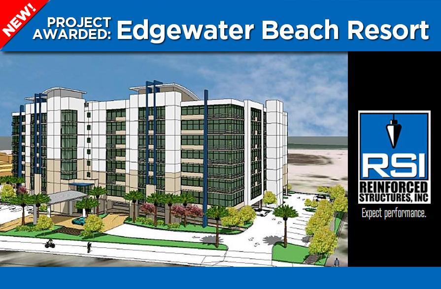 RSI awarded Edgewater Beach Resort on Treasure Island