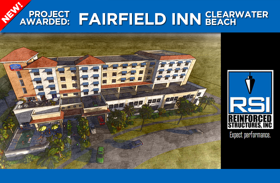 RSI Awarded Fairfield Inn on Clearwater Beach
