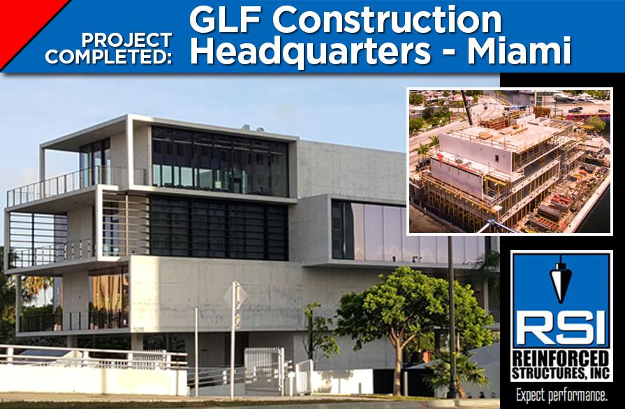 RSI Completes GLF Constructions Headquarters