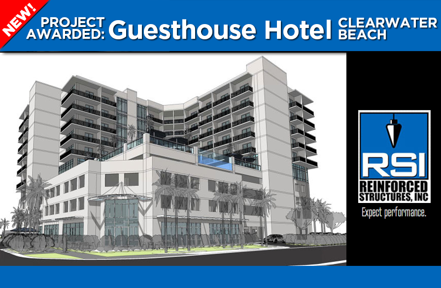 RSI awarded Clearwater Beach Guesthouse Hotel