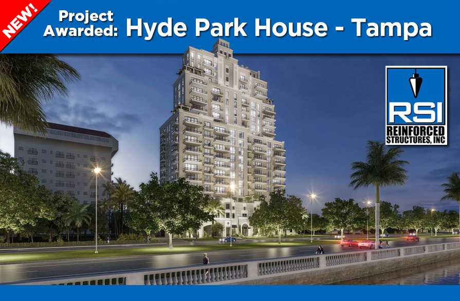 Project Awarded: Hyde Park House Tampa