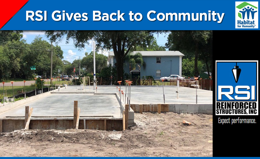 RSI Gives Back to the Community: Habitat for Humanity Project