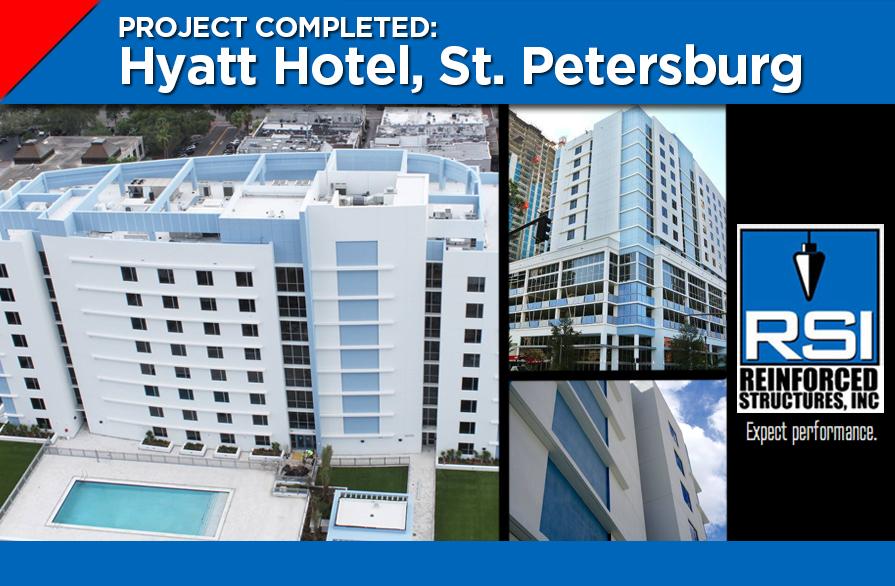RSI Work Complete, New Hyatt Hotel Opens