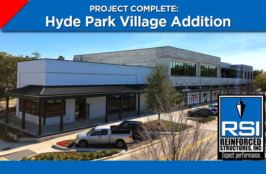 RSI Completes Hyde Park Village-Block H Project