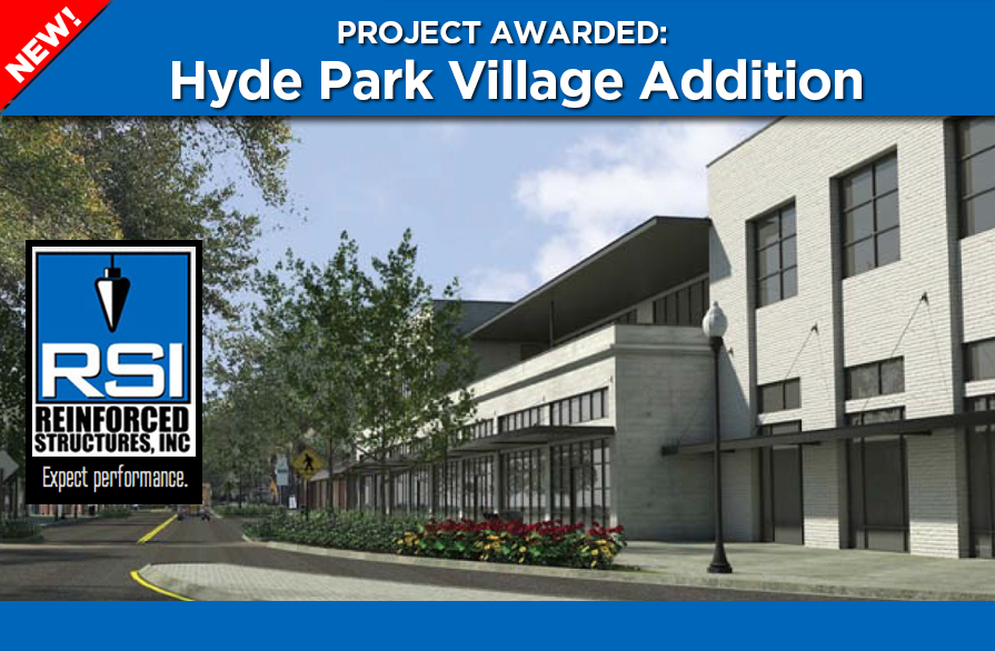 RSI Awarded Hyde Park Village Addition