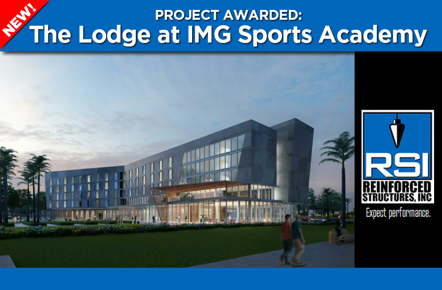 RSI Awarded The Lodge Hotel at IMG in Bradenton