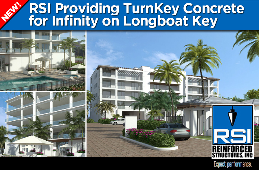 RSI Providing Turnkey Concrete for Infinity on Longboat Key