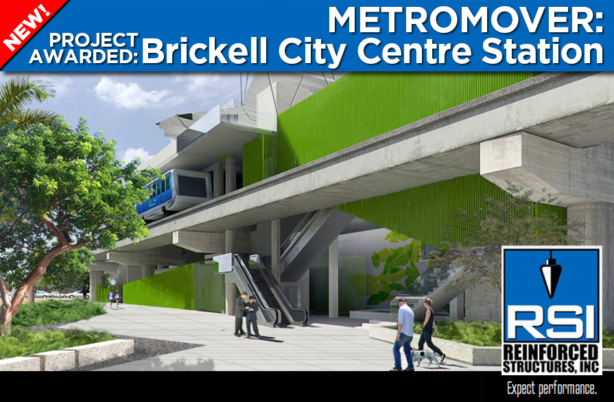 RSI Working on Miami Metromover Project