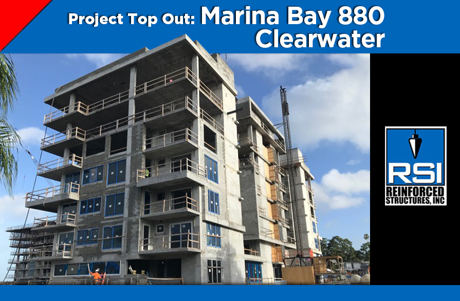 Project Top Out: Marina Bay 880 Clearwater