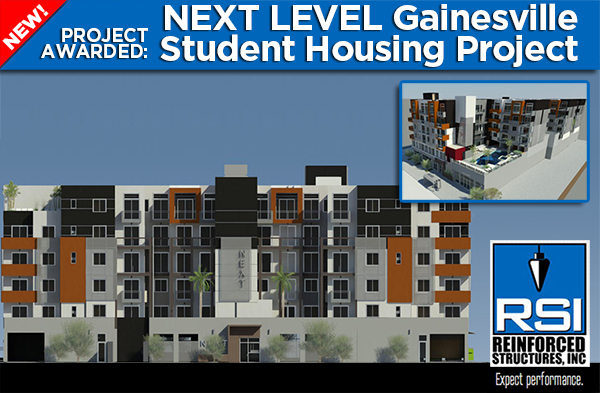 New Gainesville Student Housing Project
