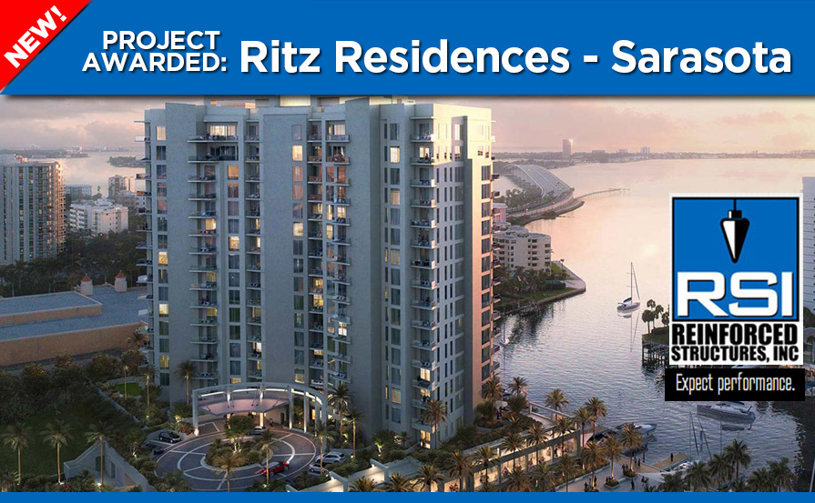 RSI Awarded Ritz Residences Sarasota