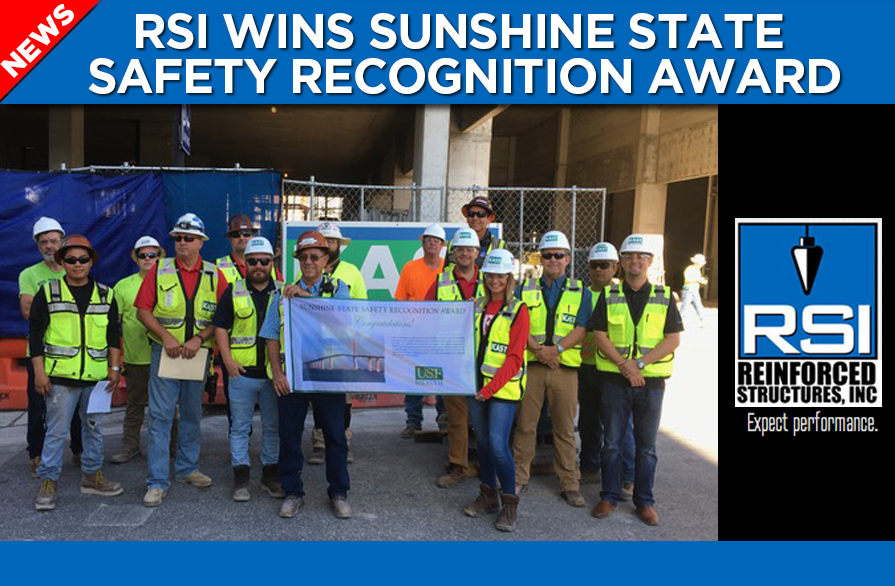 RSI Receives Sunshine State Safety Recognition Award