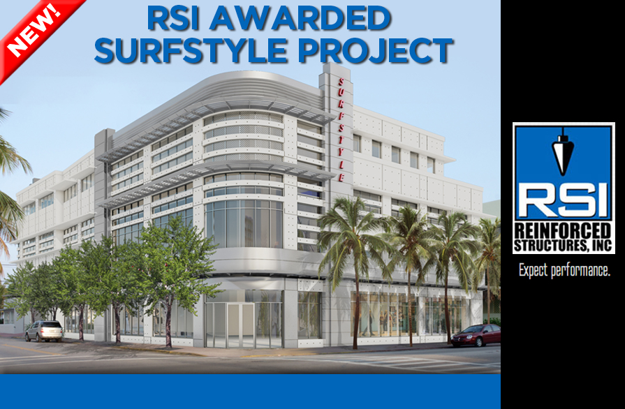 RSI providing turnkey concrete for new Miami Beach Surfstyle project