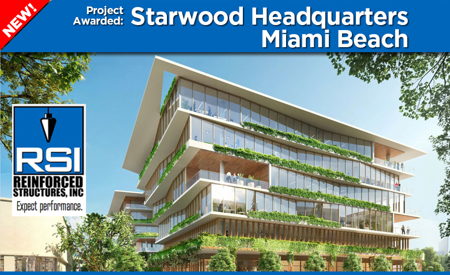 Project Awarded: Starwood Headquarters Miami Beach