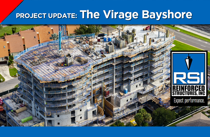 RSI Concrete Work Progresses on Virage Condominium Project