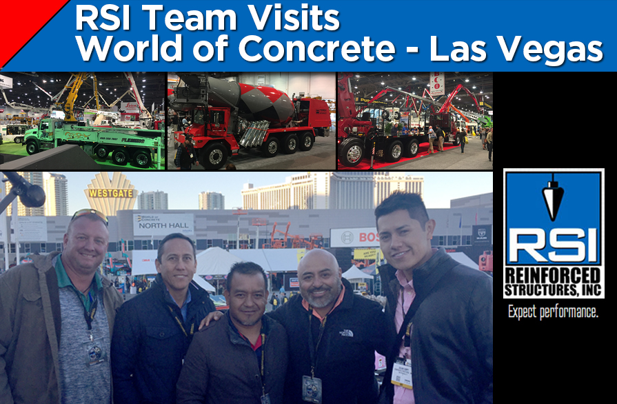 RSI Visits World of Concrete – Las Vegas