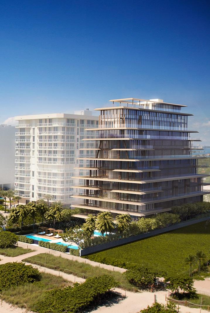 Arte condominium building, Surfside