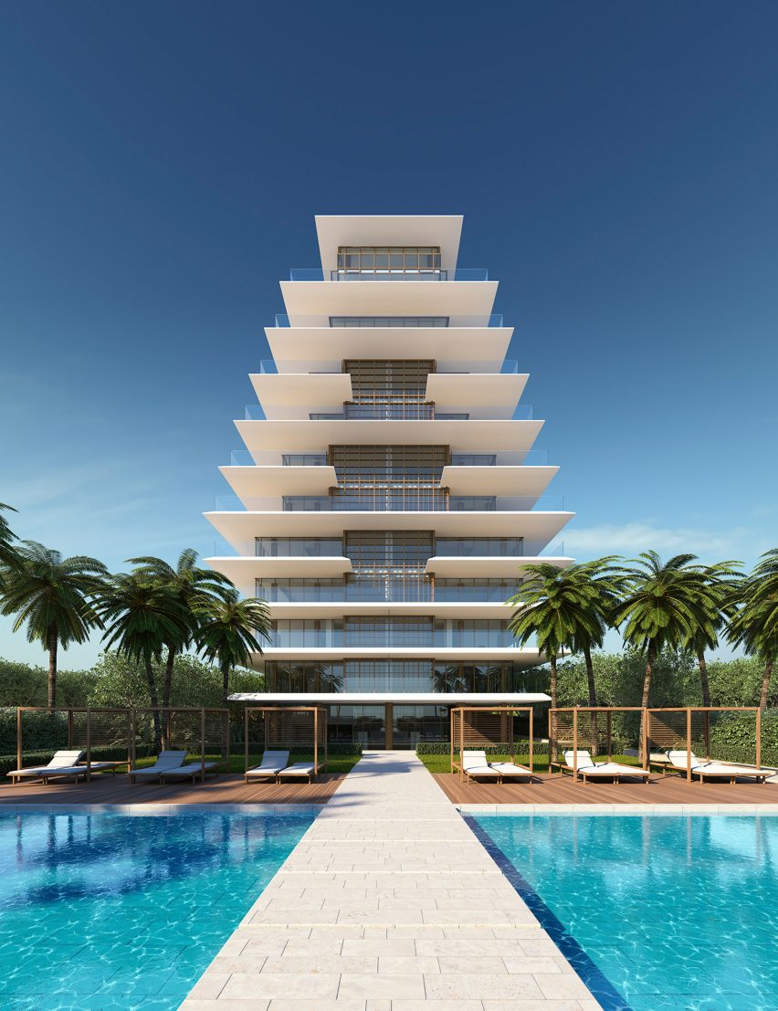 Arte condominium building, Surfside