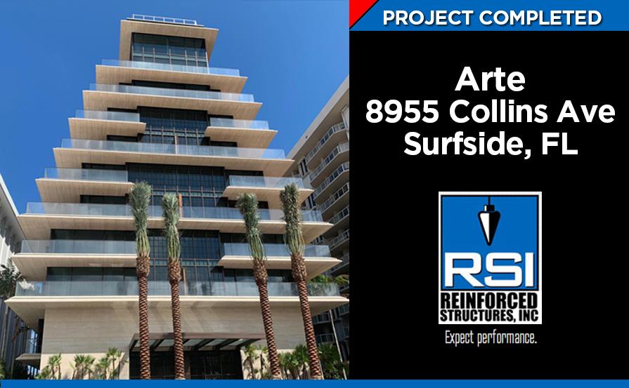 Project Complete: Arte 8955 Collins Avenue, Surfside