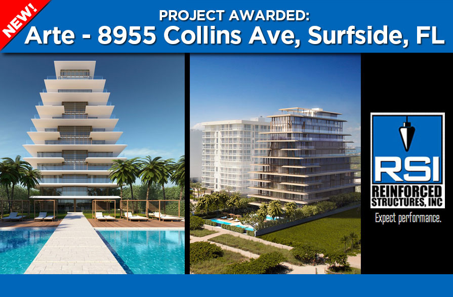RSI begins work on Arte, a new Surfside project