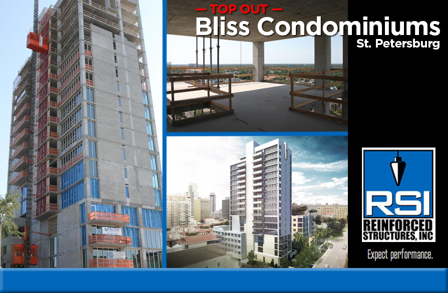 RSI Tops Out Bliss Condominium Project