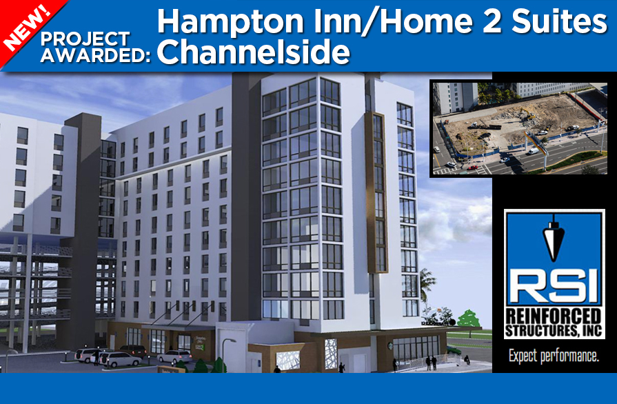 RSI Awarded Hampton Inn/Home2 Suites Channelside Project