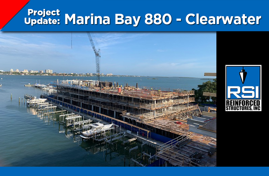 Project Update: Marina Bay 880 Clearwater