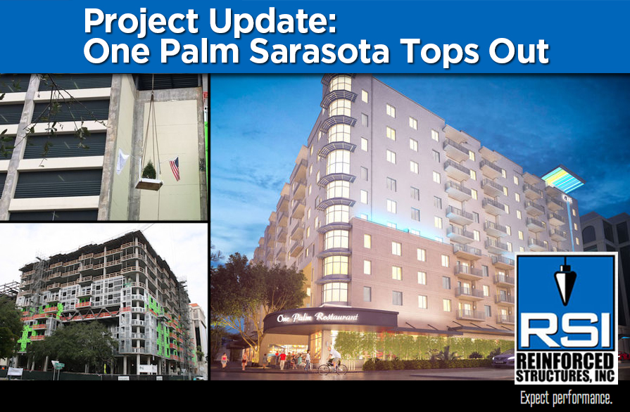 One Palm Sarasota Tops Out
