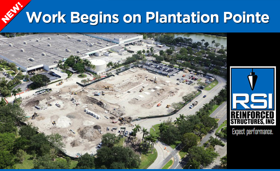 Plantation Pointe Office Park: Work Begins