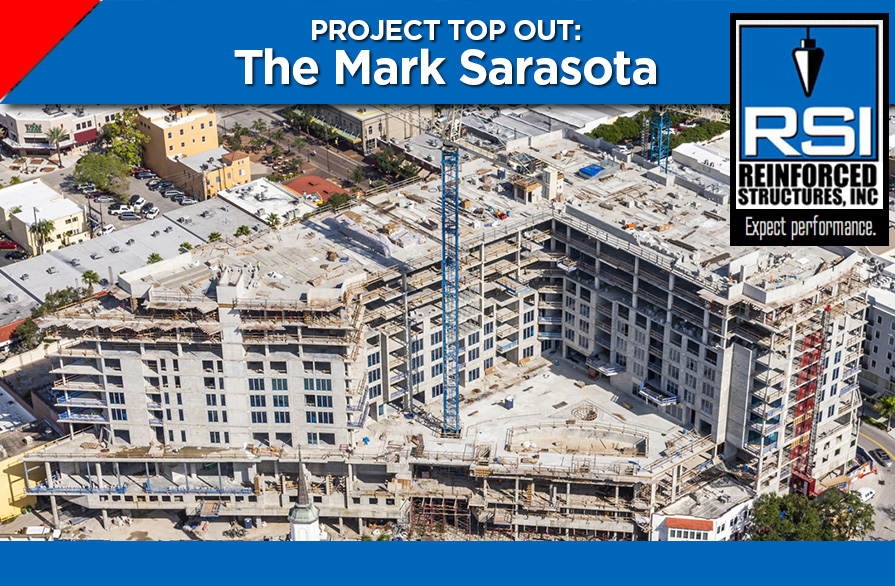 RSI Tops Out Mark Sarasota Condominium Project