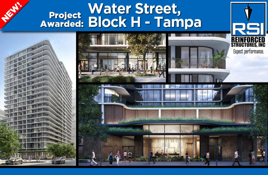 Project Awarded: Water Street Block H - Tampa
