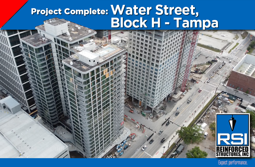 Project Complete: Water Street Block H Tampa